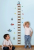 Thomas the Tank Engine RoomMates Peel & Stick Growth Chart Room View