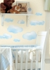 Clouds RoomMates Wall Decals Room View