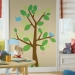 Dotted Tree RoomMates Giant Wall Decal Room View