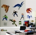 Ben 10 Alien Force RoomMates Wall Decals Room View