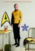 Star Trek Captain Kirk RoomMates Giant Wall Decal Room View