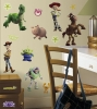 Toy Story 3 RoomMates Wall Decals Room View