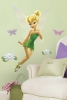 Tinker Bell RoomMates Giant Wall Decal Room View