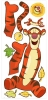 Tigger RoomMates Giant Wall Decal Sheet