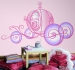 Disney Princess Carriage RoomMates Giant Wall Decal Room View