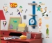 Phineas & Ferb RoomMates Wall Decals Room View