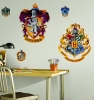 Harry Potter Hogwarts Crests RoomMates Giant Wall Decals Room View