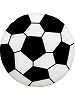 Soccer Ball Fabric Wall Art