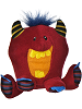 Little Red Thugz Monster Stuffed Animal by Mary Meyer