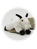 Mountain Goat Flopsies Plush Animal by Unipak