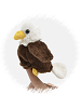 Bald Eagle Finger Puppet Stuffed Animal by Unipak