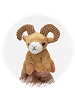 Big Horn Sheep Finger Puppet Stuffed Animal by Unipak