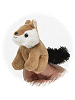 Chipmunk Finger Puppet Stuffed Animal by Unipak