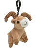 Big Horn Wildlife Plush Clip-On Stuffed Animal by Unipak