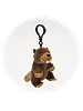 Beaver Wildlife Plush Clip-On Stuffed Animal by Unipak