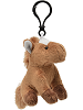 Horse (Brown) Wildlife Plush Clip-On Stuffed Animal by Unipak