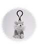 Husky Wildlife Plush Clip-On Stuffed Animal by Unipak
