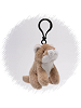 Mountain Lion Wildlife Plush Clip-On Stuffed Animal by Unipak