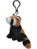 Red Panda Wildlife Plush Clip-On Stuffed Animal by Unipak