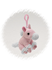 Unicorn (Pink) Plush Clip-On Stuffed Animal by Unipak
