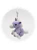 Unicorn (Purple) Plush Clip-On Stuffed Animal by Unipak