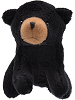 Black Bear Wildlife Stuffed Animal by Unipak Designs