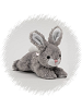 Bunny (Gray) Ruffles Stuffed Animal by Unipak Designs