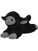 Lamb (Black) Ruffles Stuffed Animal by Unipak Designs