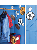 Sports Balls Wallies Mural Wallpaper Cutouts Room View