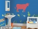 Dakota the Cow ZooWallogy Giant Wall Decals Room View