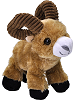Bighorn Sheep Hug'ems Stuffed Animal by Wild Republic