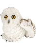Snowy Owl Mini Cuddlekins Stuffed Animal by Wild Republic