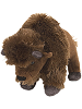 Bison Mini Cuddlekins Stuffed Animal by Wild Republic
