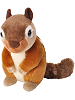 Chipmunk Mini Cuddlekins Stuffed Animal by Wild Republic