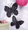Butterflies Peel & Stick Chalkboard Room View