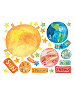 Solar System Wall Play Wall Decals Sheet A