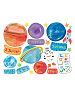 Solar System Wall Play Wall Decals Sheet B