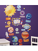 Solar System Wall Play Wall Decals Room View