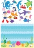 Olive Kids Aquarium Wall Play Wall Decals Sheets