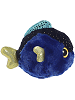 Tangee Blue Tang Fish (Mini) YooHoo & Friends Stuffed Animal by Aurora World (Side View)