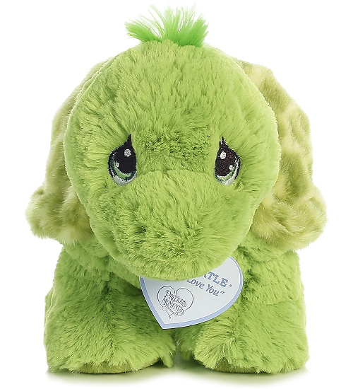 b6d436d2b9ff ... Aurora Zippy Turtle Precious Moments Stuffed Animal (Front View)
