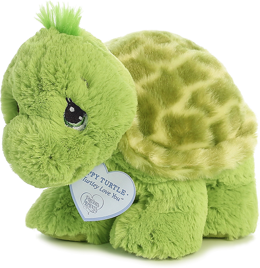 f59bcdbb6c6e Zippy Turtle Precious Moments Stuffed Animal by Aurora