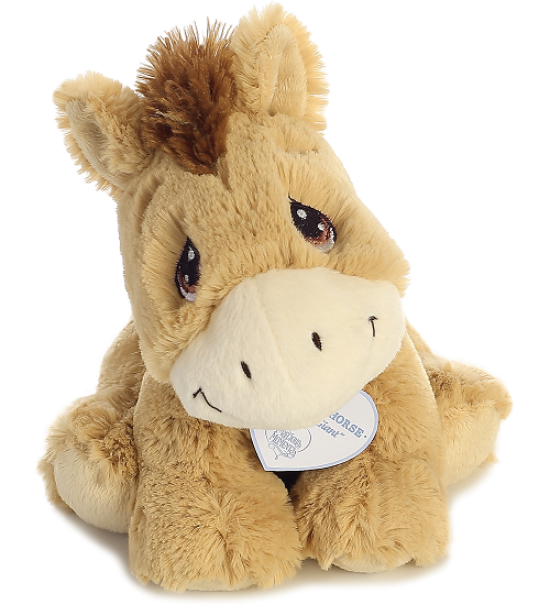 e0ad1e5d3e17 ... Aurora Apple-Jack Horse Precious Moments Stuffed Animal (Front View)