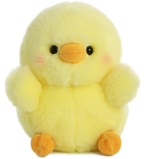 Chickadee Chick Rolly Pets Stuffed Animal By Aurora World