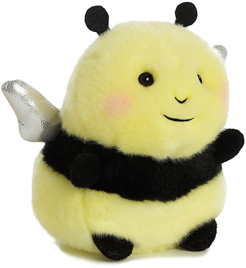 Bee Happy Bumblebee Rolly Pets Stuffed Animal By Aurora World