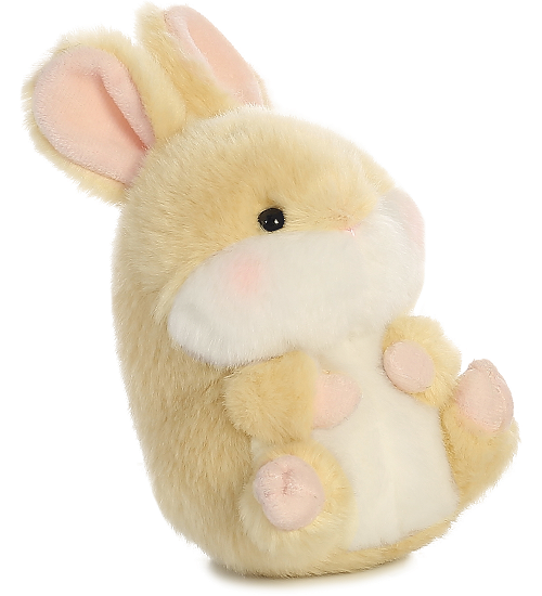 Lively Bunny Rolly Pets Stuffed Animal by Aurora World
