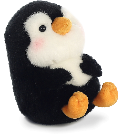 Peewee Penguin Rolly Pets Stuffed Animal By Aurora World