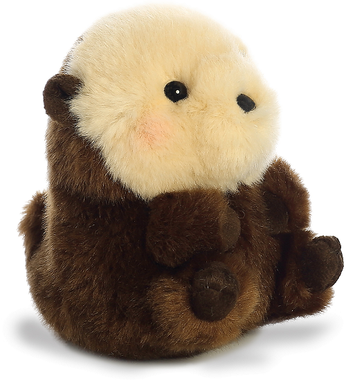 Smiles Sea Otter Rolly Pets Stuffed Animal By Aurora World