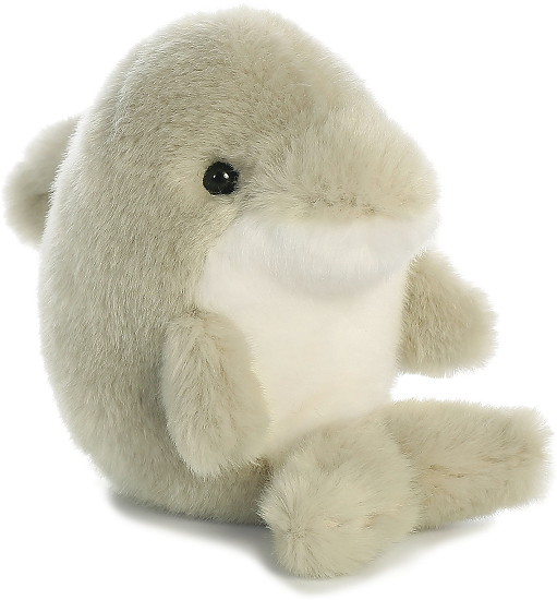 Dancer Dolphin Rolly Pets Stuffed Animal By Aurora World