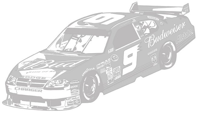 Nascar Coming Through Wall Peel Stick Mini Mural: NASCAR Kasey Kahne #9 Sudden Shadows Giant Wall Decal
